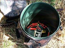 Giratorio de alta calidad de la caza de camuflaje de disparo del asiento de la cuchara con bolsillos de almacenamiento