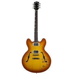 Trou de Jazz électrique F Semi ES-335 Guitare de corps creux