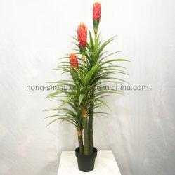 180cm künstliche rote Sorghum-Fälschungs-Baum-Fälschungs-Blumen-Dekoration-künstliche Pflanze
