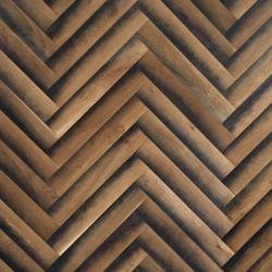 Fudeli 3D a più strati Herringbone ha costruito il pavimento di legno laccato 90mm