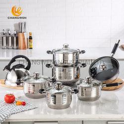 il Cookware dell'acciaio inossidabile 14PCS ha impostato per l'elettrodomestico