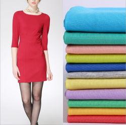 38% Nylon 57% rayonne 5% Spandex Ponte-De-roms pour vêtements en tissu