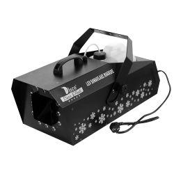 1500W à LED de la neige artificielle Maker pour le parti de la machine, mariage, de performances