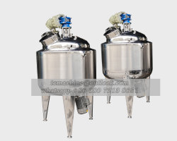 Reactores químicos 500L de aço inoxidável reator Tanque de reacção química