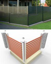 يزنّك تصميم بسيطة رخيصة بالجملة فولاذ [بورتبل] معدن حديقة سياج