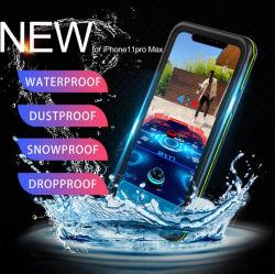 Imperméable Dropproof Transparent couvercle étanche aux poussières étui pour téléphone mobile pour iPhone 11 PRO Max