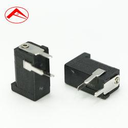 0.5A Montagem de PCB 50V cobre os conectores do canhão aluguer de tomada de 12 V DC Power Jack com vida ciclos de 5000