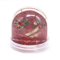 [ديي] بلاستيك عيد ميلاد المسيح ماء كرة أرضيّة صورة [أكرليك] إطار ثلج كرة أرضيّة للديكور المنزلى
