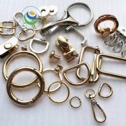 기계설비 바지 또는 부대 부속품을%s 아연 합금 스냅 개 훅 부대 가죽 D-환형물 금속 Pin 벨트 죔쇠
