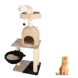 Le sisal vrac Scratcher Turbo Smart arborescence Pet Cat Toy