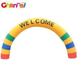 Promoção da almofada insuflável Arco de boas-vindas com o logotipo personalizado Imprimir Concluir Arch