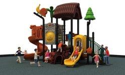 재밌는 아이들 슬라이드 야외 놀이터 장비 놀이공원 주거지 유치원