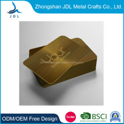 Metalen High Quality Stamping Laser Gold Business/VIP Customized Card (04)