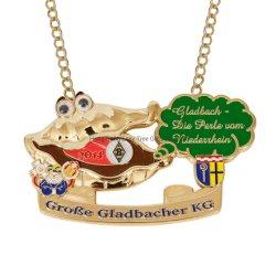 Venda por grosso de metais de Promoção de Design Personalizado barata de recreio Sport Gold Award Loja Medal of Honor