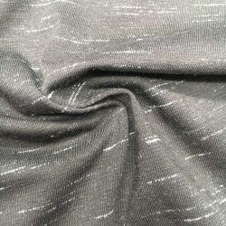 Cotone della tintura del filato/Spandex/Polyester93/5/2, 170GSM, effetto singola Jersey della tintura dello spazio per la maglietta