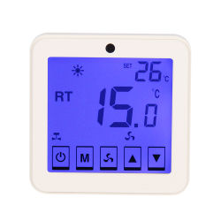 De programmeerbare Digitale Thermostaat van de Zaal voor de Voorwaarde van de Lucht 9k