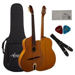Ручная работа Maccaferri цыганского Гранде Bouche Акустическая гитара