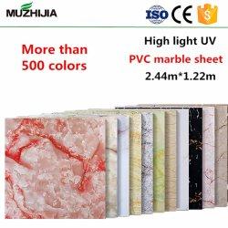 Le mur intérieur des panneaux décoratifs Carte UV haute brillance avec prix d'usine
