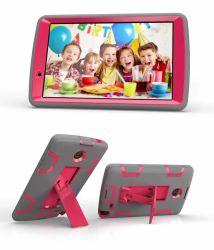 Mobile Pad Tablet крышки защиты топливораспределительной рампы случае обороны для LG G блока2 8,0 V498 V495 V496