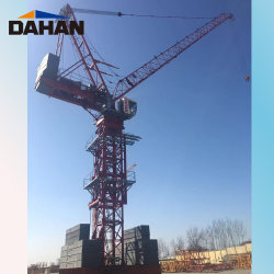 Levantar el auto de alquiler de grúa torre Diseño Luffing Qtz500 (8522)