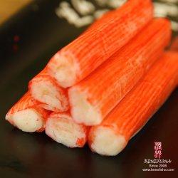 As imitações de surimi bastões de caranguejo