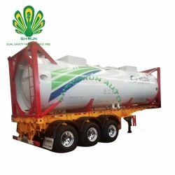 販売のための頑丈な化学タンカーの記憶の燃料の液化天然ガスLPGによって使用されるISOタンク容器
