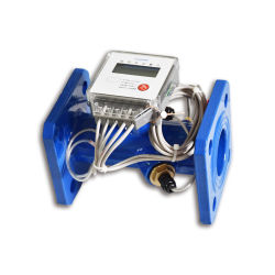 초음파 Modbus 물 교류 센서 가격 DN50 초음파 열 미터 바디