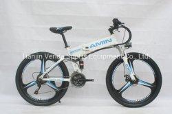 21скорости 26*16дюйма в корпусе из магниевого сплава алюминия колес на горных велосипедах с электроприводом складывания
