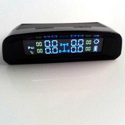Angeschaltenes SOLARTPMS mit 4 internen Fühlern, Diagnosewarnungs-Funktion, Temperatur-Anzeigeinstrument (º C), Bildschirmanzeige Stab-P-/inLCD