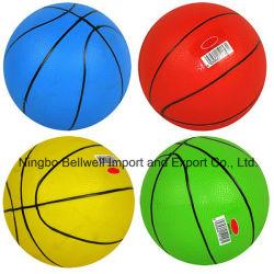 El logo impreso personalizado inflados de juguetes de PVC baloncesto