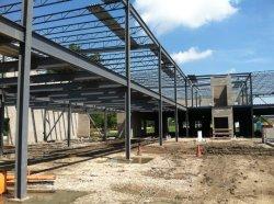 Bâtiment de l'usine louer Light Frame Construction acier structurel Atelier PEB