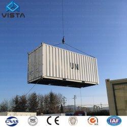 Het luxe OceaanHuis van de Verschepende Container 40feet van de Mening Modulaire Geprefabriceerde