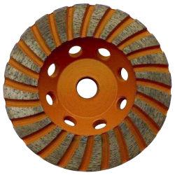 tazza della rotella di diamante di 80mm 100mm 110mm per la molatura concreta di marmo