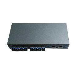 Interruttore di rete Port 10 con l'interruttore Port dello SFP di 8*100m SFP e 2 dell'interruttore 8 di fibra ottica Port di Giga RJ45