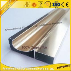 Het Profiel van de Keukenkasten van het Aluminium van het Avondmaal van China in de Decoratie van het Meubilair