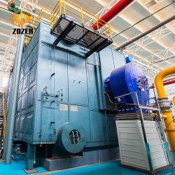 21MW Caldera Acuotubular de Tambor Doble de Gas Diesel de Agua Caliente para la Calefacción