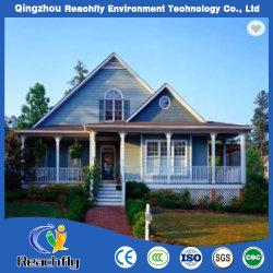 Het lichte Flexibele Ontwerp van het Huis van de Villa van de Structuur van het Staal en Hoge Bezettingsgraad, Thermische Isolatie, Geluidsisolatie