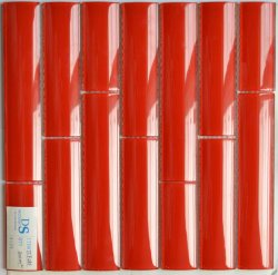 Azulejo de mosaico rojo de la serie de bambú caliente de la venta