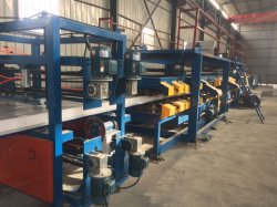 Painel Composto de alumínio a quente da linha de produção