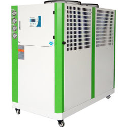 10 Matériel de réfrigération industrielle HP refroidi par air refroidisseur à eau la machine