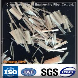 Fibre de polyester en fibre de pâte hachée pour béton d'asphalte