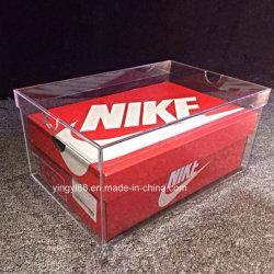 De Transparante AcrylDoos van uitstekende kwaliteit van de Lade voor de Vertoning van Schoenen