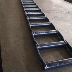 Serie Wdhr580 Per Fresatura Larga In Acciaio Forgiato, Passo 6.000 - Catena Per Trefoli A 20 Maglie Con Stampa Blu