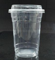 Plástico OEM 1000ml Eco-Friend de promoción de la Copa desechable de palomitas de maíz