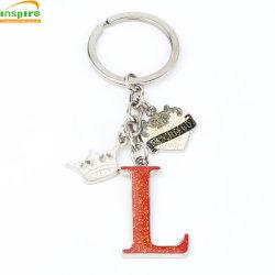 Zink-Legierungs-Oil-Filled Funkeln-Schlüsselkette für Souvenir&Promotion Geschenk