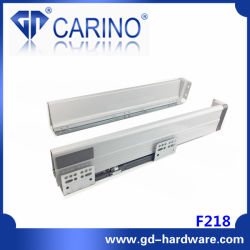 F218二重壁の引出しシステムか細い引出しボックスシステムまたは引出しのランナー