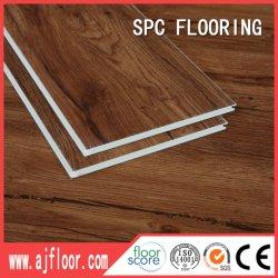Commerce de gros facile de maintenir l'intérieur en plastique de pierre Spc Cliquez sur un revêtement de sol en vinyle