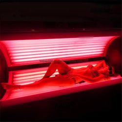 赤灯療法のカプセルの赤外線ライト療法のベッド