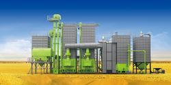 Grande eficiência Arroz Longitudinal secador da máquina para as indústrias agrícolas