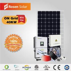 Rosen 40КВТ по сетке солнечная энергия солнечных энергетических систем